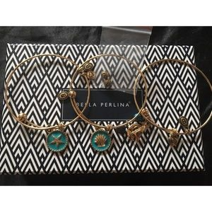 3 Bella Perlina bracelets